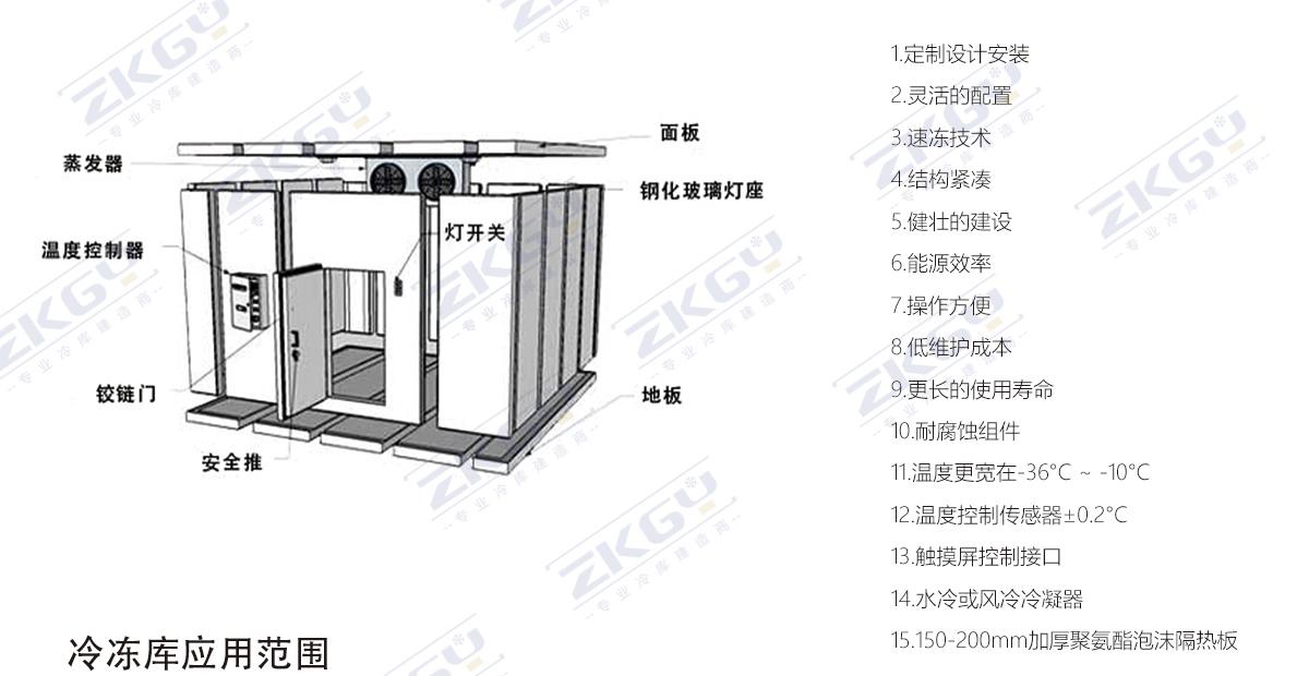 冷冻库设计建造商,自有工厂从原材料源头给予保障-常州冷库设计|冷藏冷库工程|常州保鲜冷库建设|冷库建造_中科高易冷链系统(江苏)有限公司
