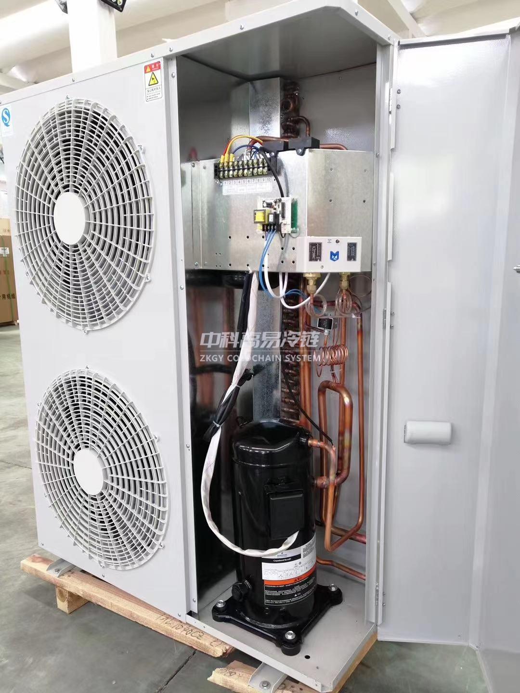箱式MINI型压缩冷凝机组-  全封闭机组-常州冷库设计|冷藏冷库工程|常州保鲜冷库建设|冷库建造_中科高易冷链系统(江苏)有限公司